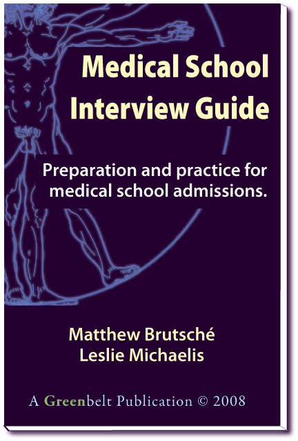 Medical School Interview Guide Cover Picture